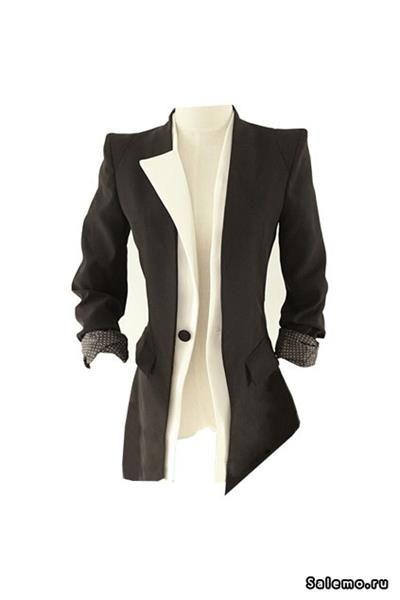 Белый женский пиджак дешево