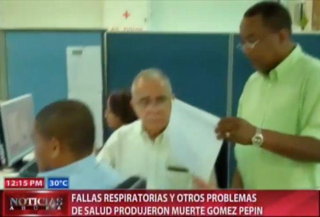 Fallas Respiratorias Y Otros Problemas De Salud Produjeron Muerte Director Periódico El Nacional #Video
