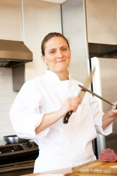Career advice from chef April Bloomfield: No crying in the kitchen