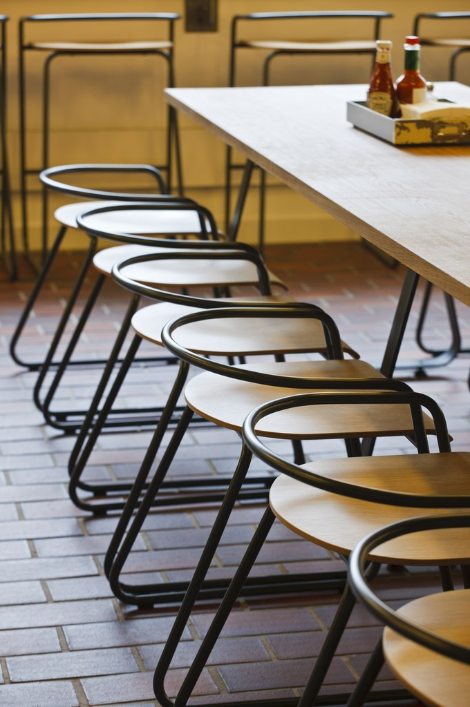BH01 Low Chairs by Stephan Bench - SHH @ Barbican Food Hall, London,  England