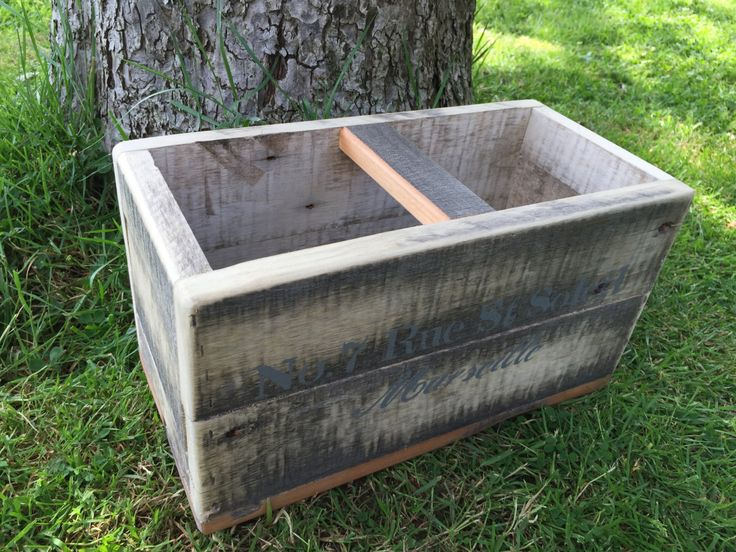 Vintage style fishmongers box trug by EveAmberLay on Etsy https://www.etsy.com/uk/listing/385191100/vintage-style-fishmongers-box-trug
