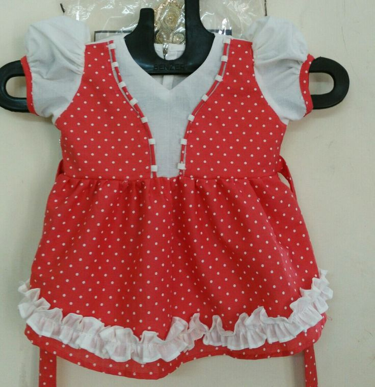 Beautiful baby frock made at blessings boutique. Contact us at : seematewatia2112@gmail.com