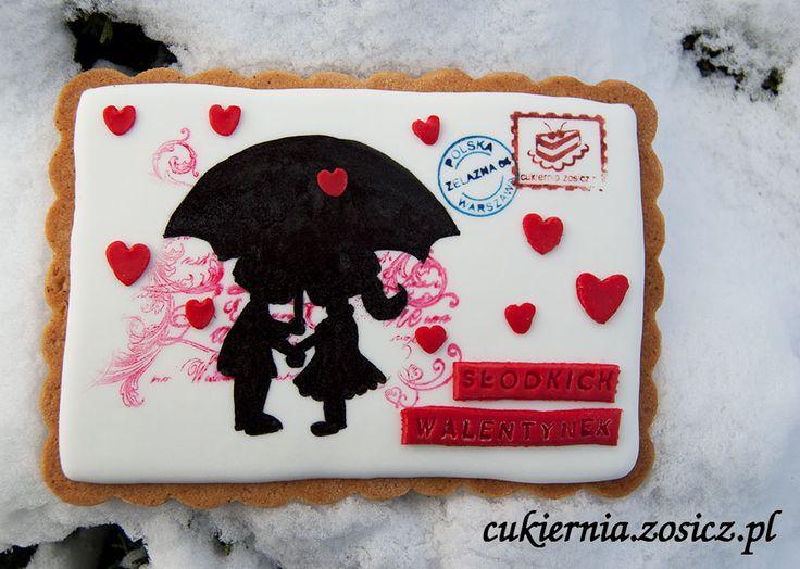 sweet Valentine's postcard