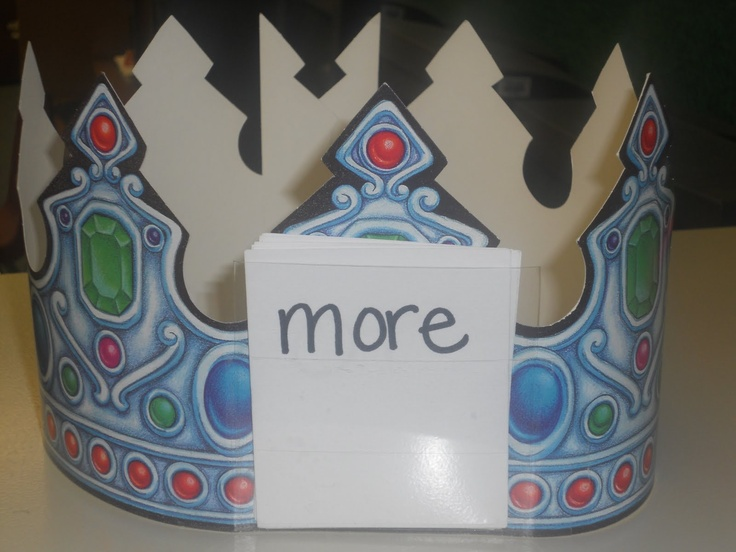 I saw one of our kindergarten teachers playing this game, and had to find a way to use it in my class. They LOVE it! We used it to review our spelling words. I choose one King or Queen at a time to come sit in the royal throne. They put on a crown with a little pocket in the front. I put one word in the pocket, so they can't see it. The class spelled the word, and the King/Queen had to guess what the word was. In Kindergarten they did it with sounds. The class said the sounds in a word, and t...