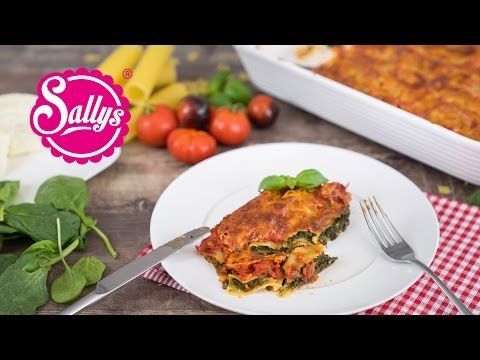 sallys blog cannelloni mit cremiger spinat k sef llung und tomatenso e ofenrezept lecker. Black Bedroom Furniture Sets. Home Design Ideas