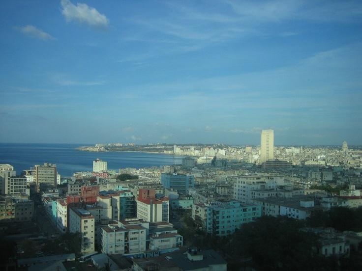 Havana from my hotel room at the Tryp Habana.