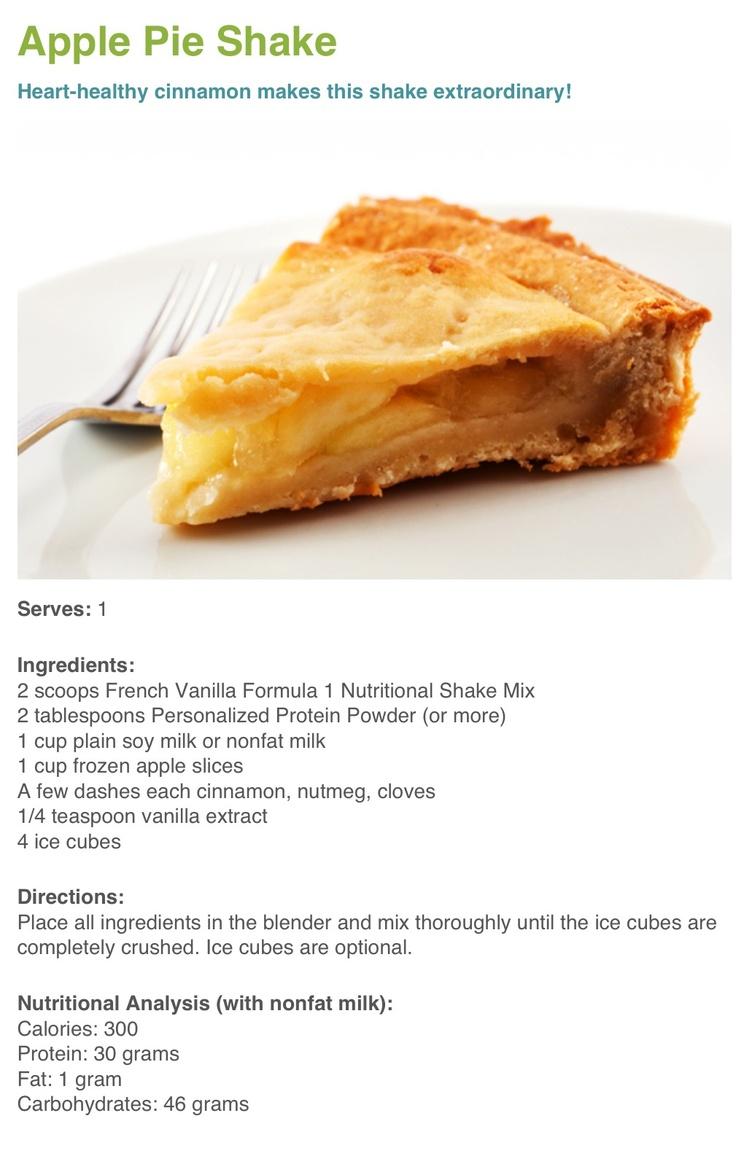 pinning that recipe! Order your French Vanilla Herbalife Shake today!!