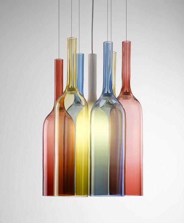 Arik Levyn värikas lasilamppu