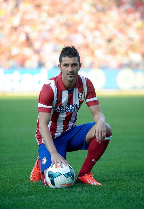 ~ David Villa. Atlético de Madrid ~
