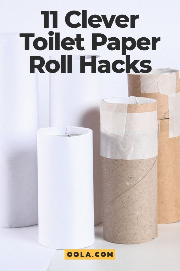 11 Clever Toilet Paper Roll Hacks Toilet Paper Roll Toilet
