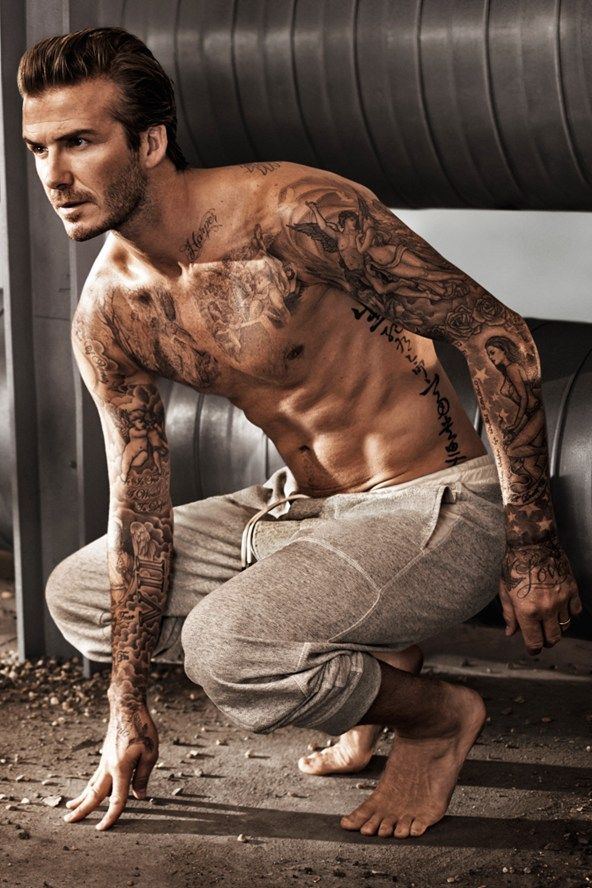 TATTOO - David Beckham