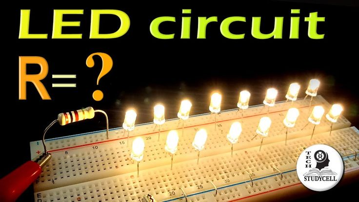 How to connect multiple leds in series parallel circuit