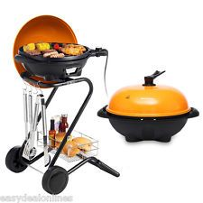 Portable 1350W Indoor / Outdoor Electric Grill Smokeless BBQ Barbecue Cooking US