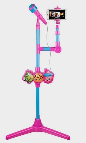 Shopkins Molded Microphone Stand with Lights and Selfie Stick http://fave.co/2d4vOzf