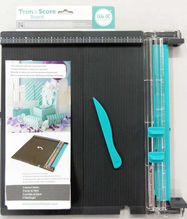 Recensione Trim & score board by We R Memory Keepers - Product review - ...