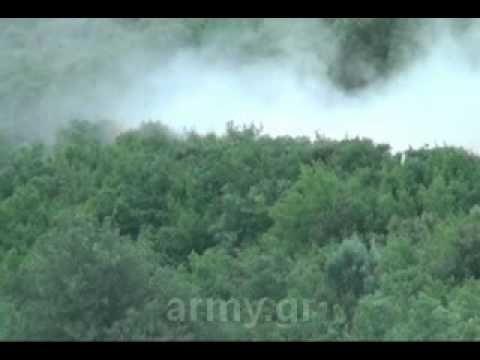 Βολές Αρμάτων Leo 2 Hel,στο Πεδίο Βολής Αρμάτων Ξάνθης.flv