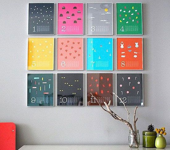 creative wall calendar google search