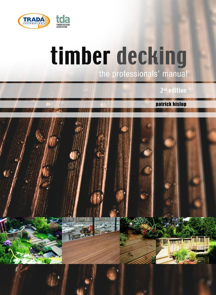 For specifiers we have the Timber Decking Manual for £34.  You can buy on line at our website.