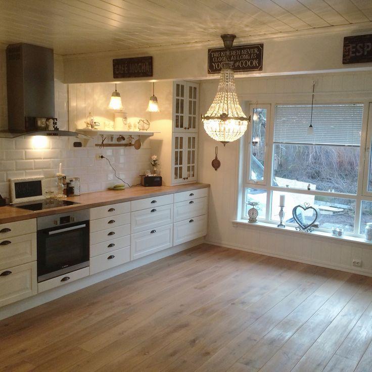 Neues Osmo Wachs auf dem Boden in meiner Küche von @villatverteigen
