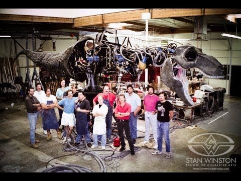 How Jurassic Park's Animatronic Tyrannosaurus Rex Was Built