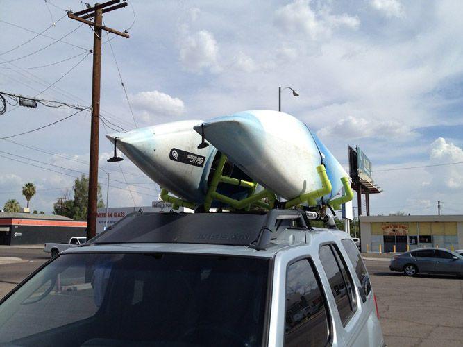 25 Best Ideas About Kayak Roof Rack On Pinterest Kayak