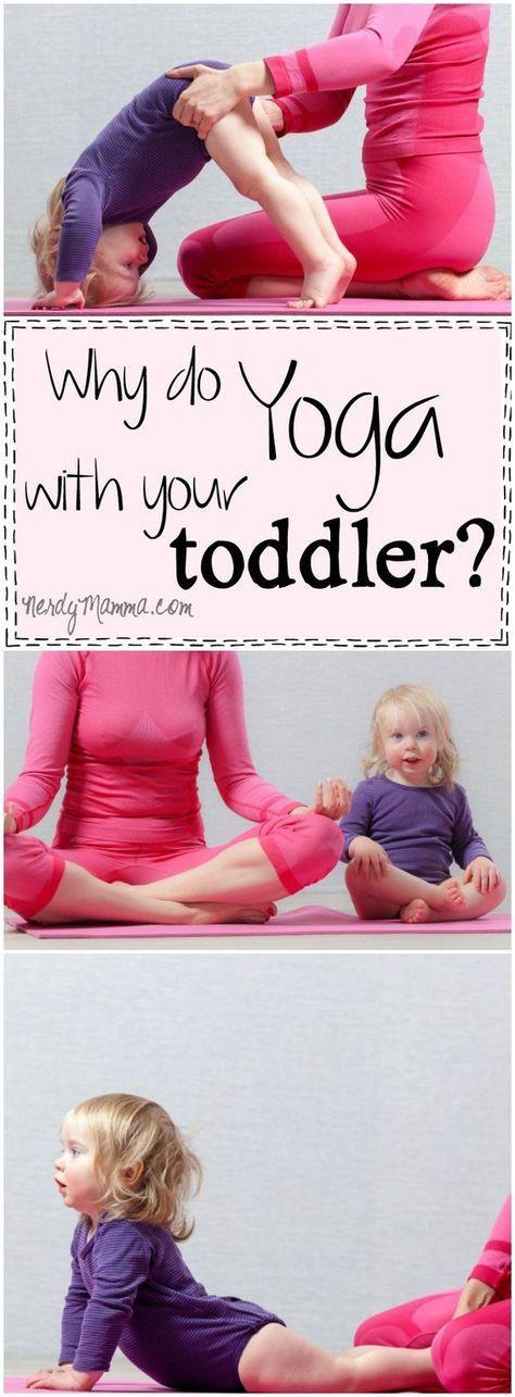 Yoga für Kleinkinder. Warum eigentlich nicht? :)