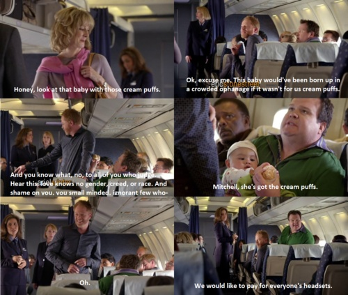 Modern family, lily