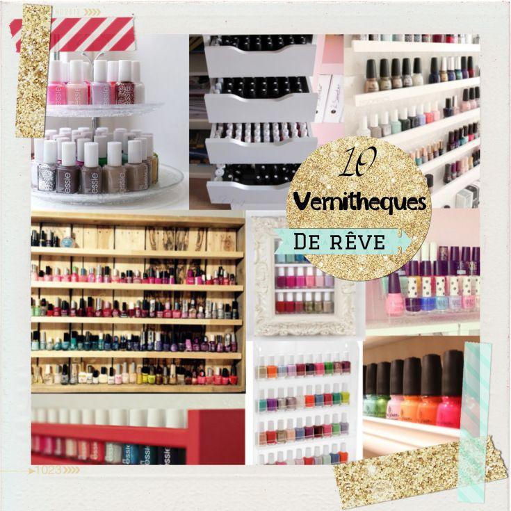 vernithques de rve dream ways to storage your nail polish with rangement cave ikea. Black Bedroom Furniture Sets. Home Design Ideas