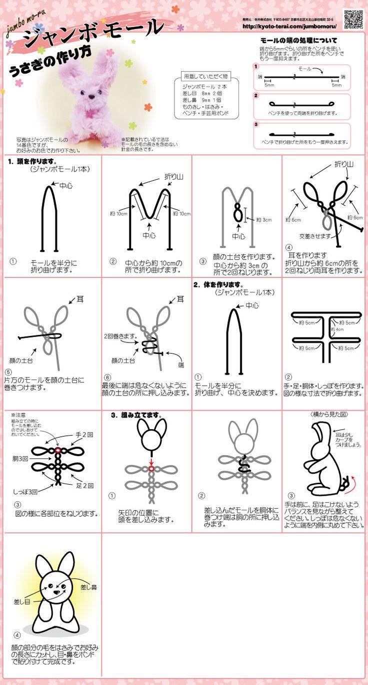 ジャンボモール 無料レシピ うさぎ | 寺井株式会社