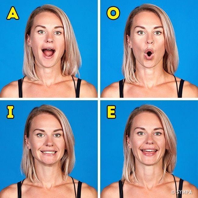 Favori Les 25 meilleures idées de la catégorie Exercices pour le visage  JS15