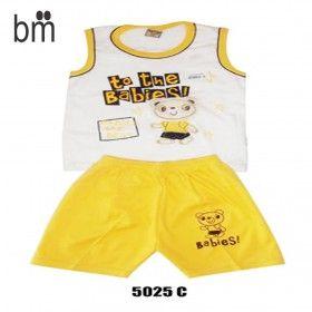 """Kode : 5025 C Harga : Rp. 36.000 Merk : Tom Tom Stelan Singlet Co """" To The Babies""""  Size : Allsize, 6-18bln"""