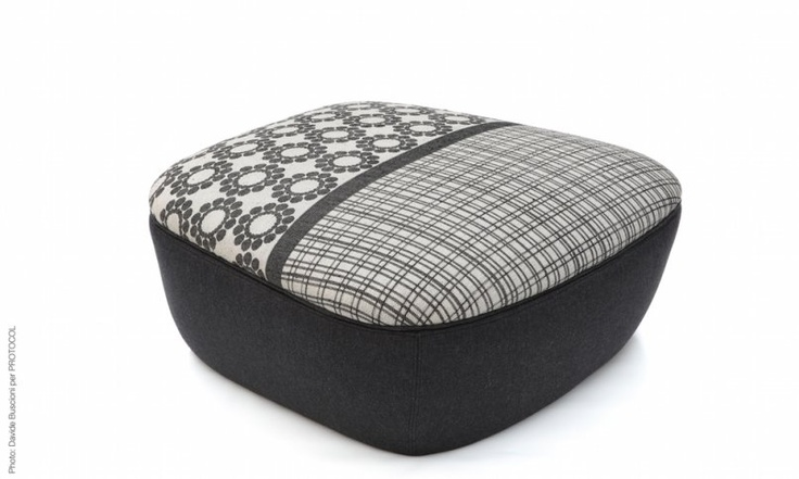 Large storage footstool - design by Ilaria Innocenti