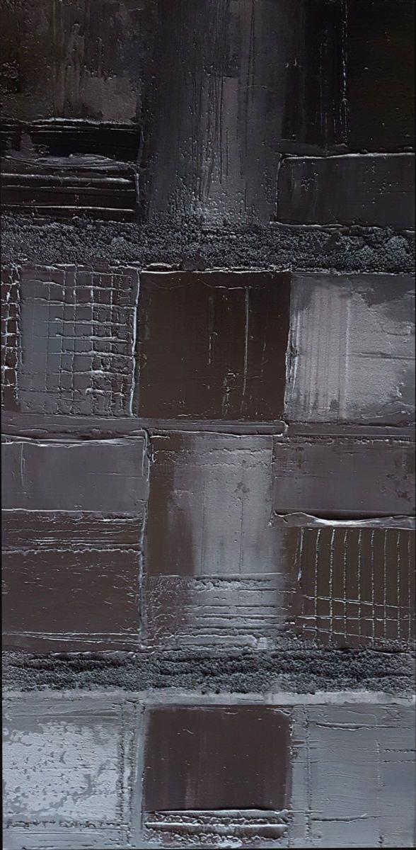 Monochrome Noir 22 Peinture par Stéphanie MENARD (France) | Monochrome, Art moderne et Peinture ...