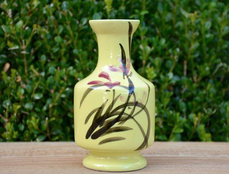 Vintage Asian Vase, Asian Decor, Chinoiserie Vase, Chinoiserie Decor, Vintage Asian Bud Vase, Vintage Chinoiserie Bud Vase, Vintage Vase by DarbVintage on Etsy https://www.etsy.com/listing/589418647/vintage-asian-vase-asian-decor