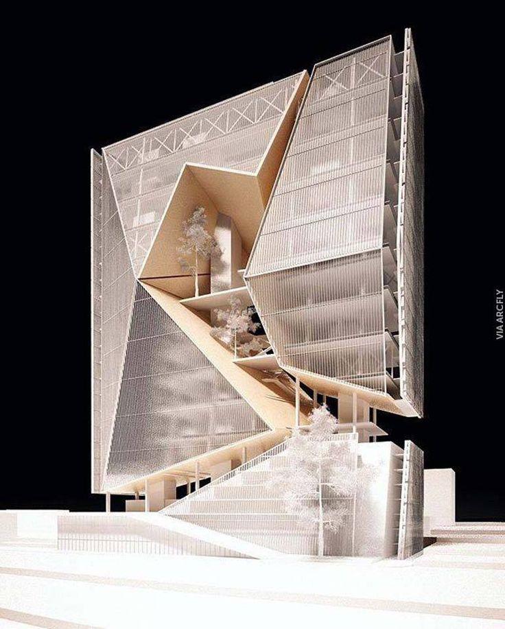 Préférence 364 best Maquette images on Pinterest | Architecture, Architecture  RM13