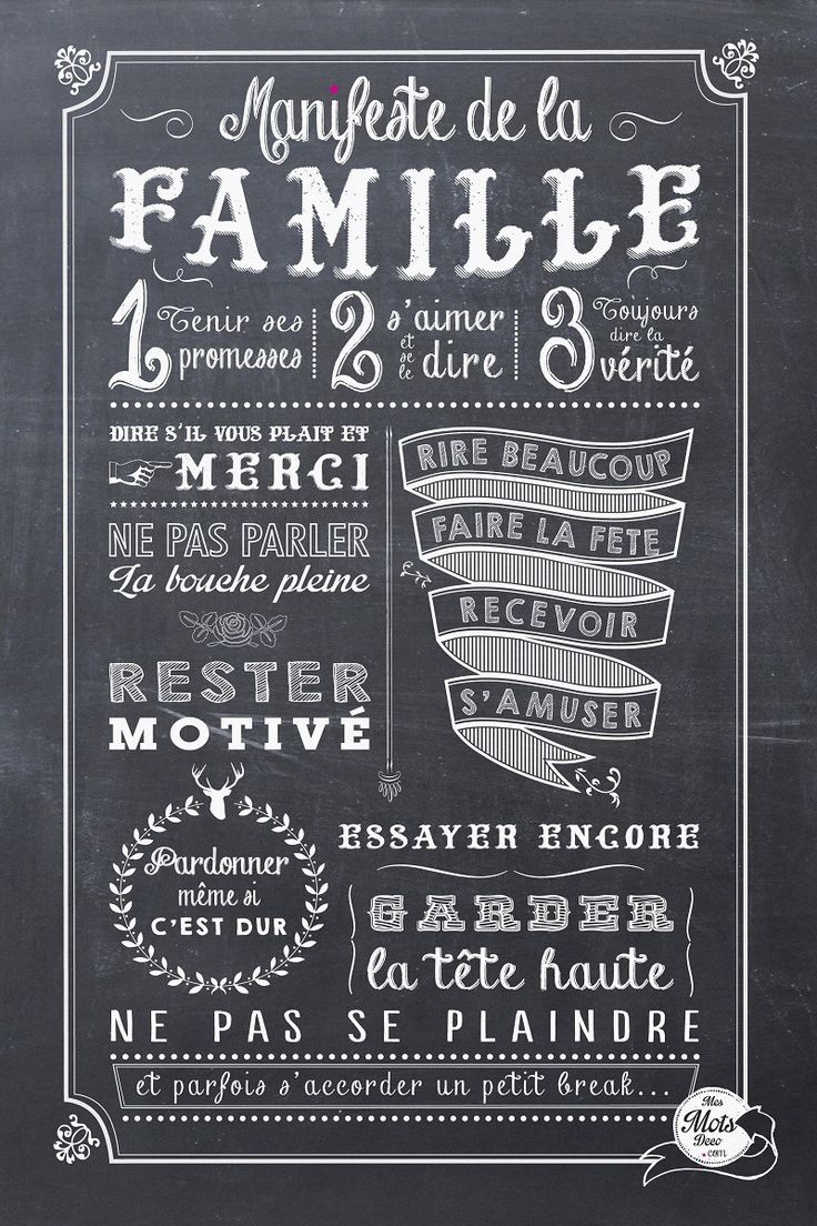 Famille ...