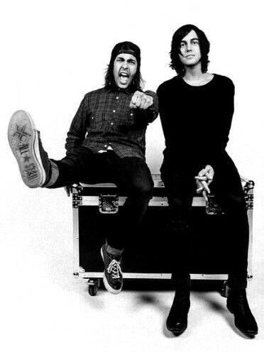 Vic Fuentes and Kellin Quinn