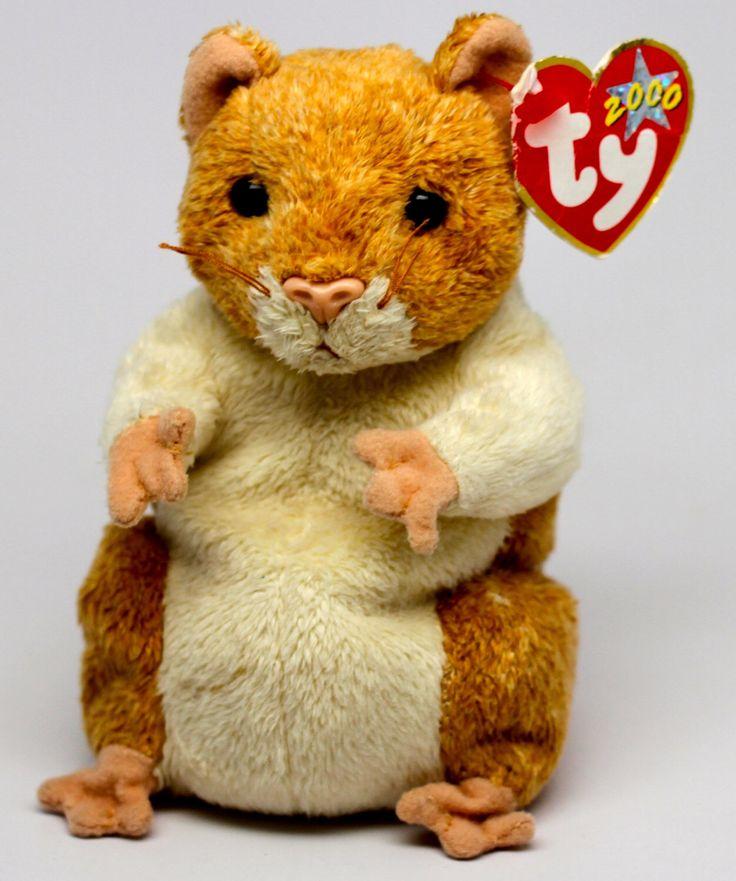 TY Beanie Baby Pellet the Hamster, 2000 - Rare & Retired! by TYBeaniesRus on Etsy https://www.etsy.com/listing/221251457/ty-beanie-baby-pellet-the-hamster-2000