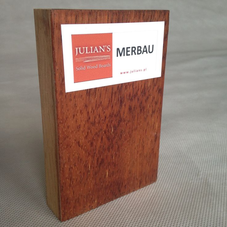MERBAU wood sample