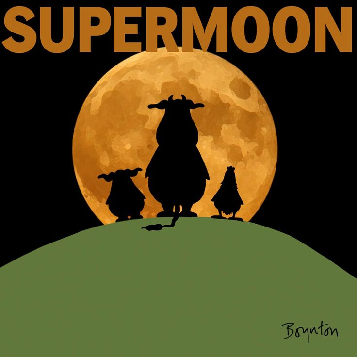 SUPERMOON! Full moon has not been as close to Earth since 1948. Look to the horizon! (Perigee 11/14 at 6:22 AM EST) #supermoon. Sandra Boynton