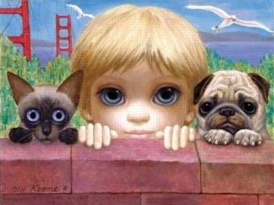 """""""San Francisco Here We Come"""" by Margaret Keane"""