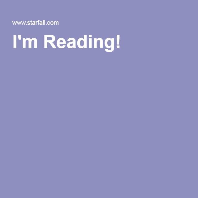 I'm Reading!