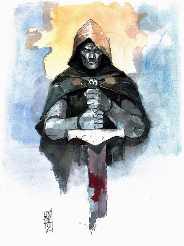 Dr. Doom by Alex Maleev