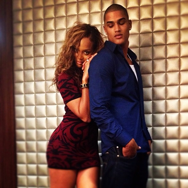 Tyra Banks Man: 16 Best Images About Tyra Banks And Rob Evans On Pinterest