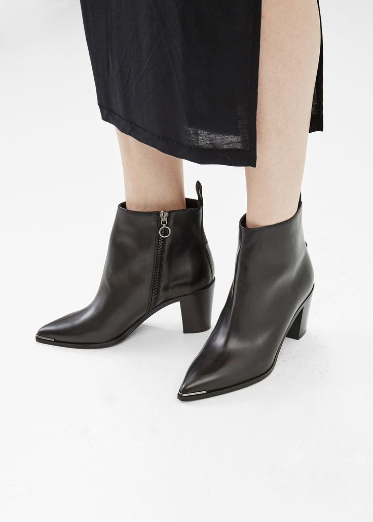 Acne Studios Loma Ankle Boot (Black)