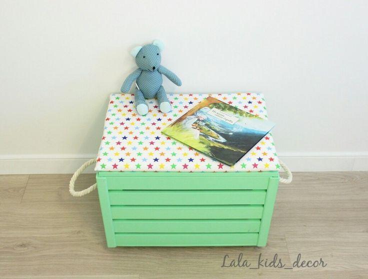 Корзины и ящики для игрушек