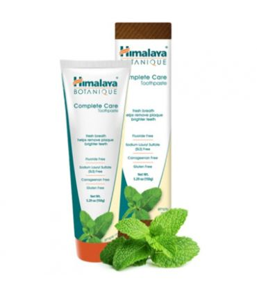 Himalaya Botanique approaches oral care a little differently.They combined Neem leaf, harvested from 'the worlds most researched tree' and combined it with the most popular formula in all of Ayurveda – the three renewing fruits of Triphala, along with the powerful pomegranate fruit to create something noticeably different. With regular brushing, this herbal toothpaste helps support healthy-looking gums, to fight plaque and freshen your breath.