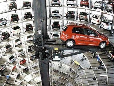In Germany sales of new car declined
