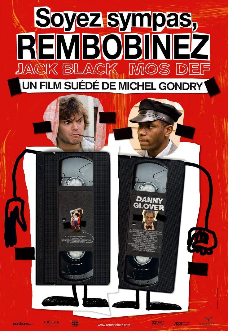 """Soyez sympas, rembobinez  """"Be kind rewind"""" (Michel Gondry) 2008"""