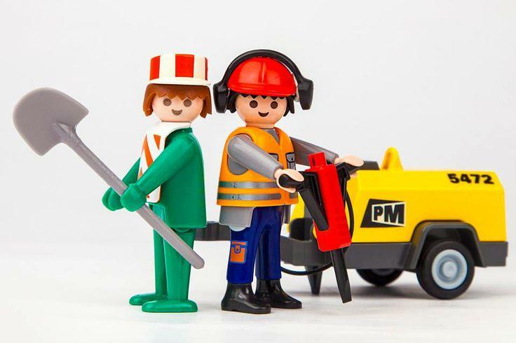 Εργάτης PLAYMOBIL 1974-2013!